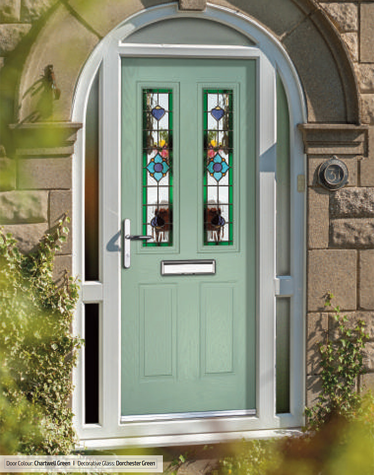 Carnoustie - composite front doors