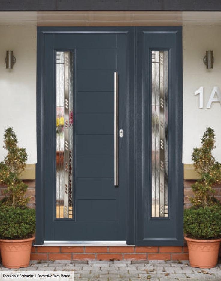 Monza - composite front doors