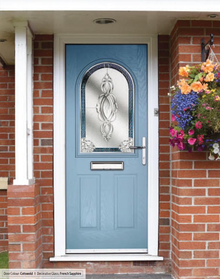 Turnberry composite front doors